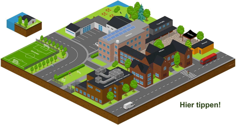 Modell der Domschule