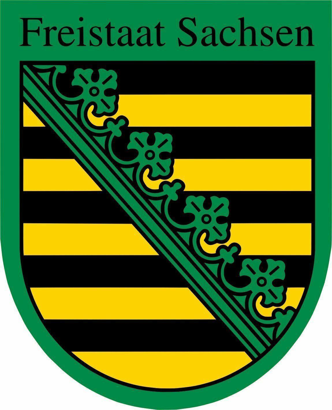 Sachsen - Wappen