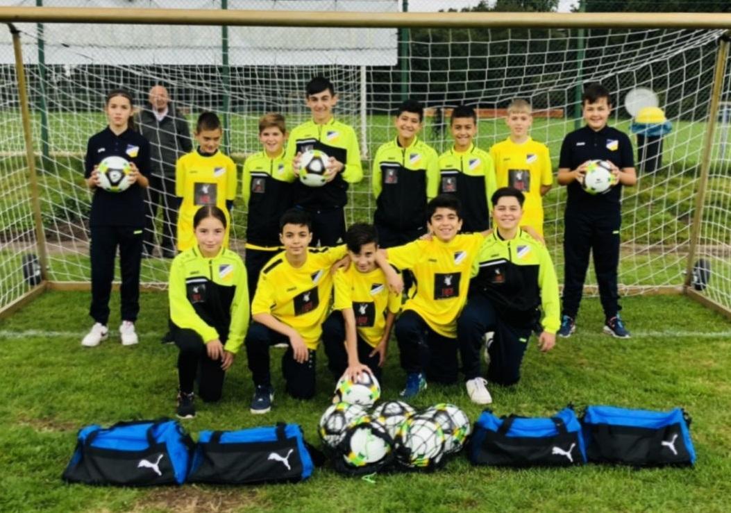 1. D-Jugend 2021-2022_Mannschaftsbild