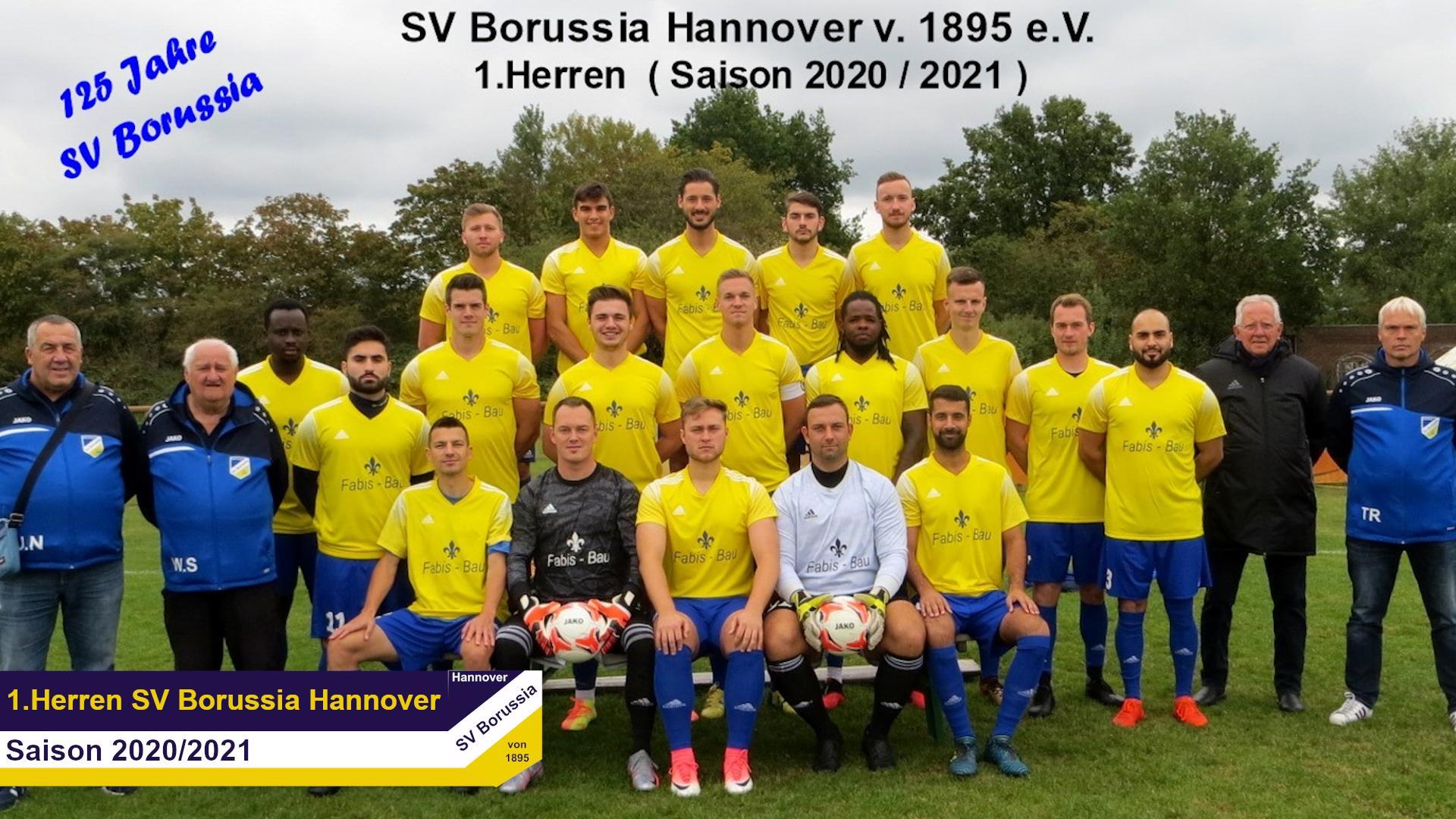 Mannschaftsbild_Erste Herren_2020-2021