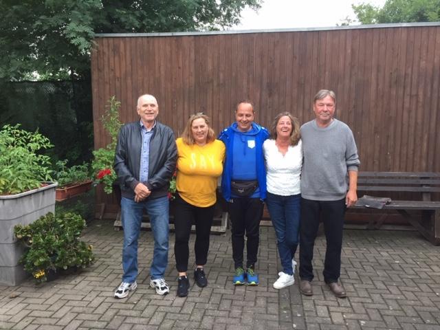 von Links: Dieter Schwulera, Natascha Doerler, Dirk Hasselmann, Elke Mißullis, Michael Achnitz