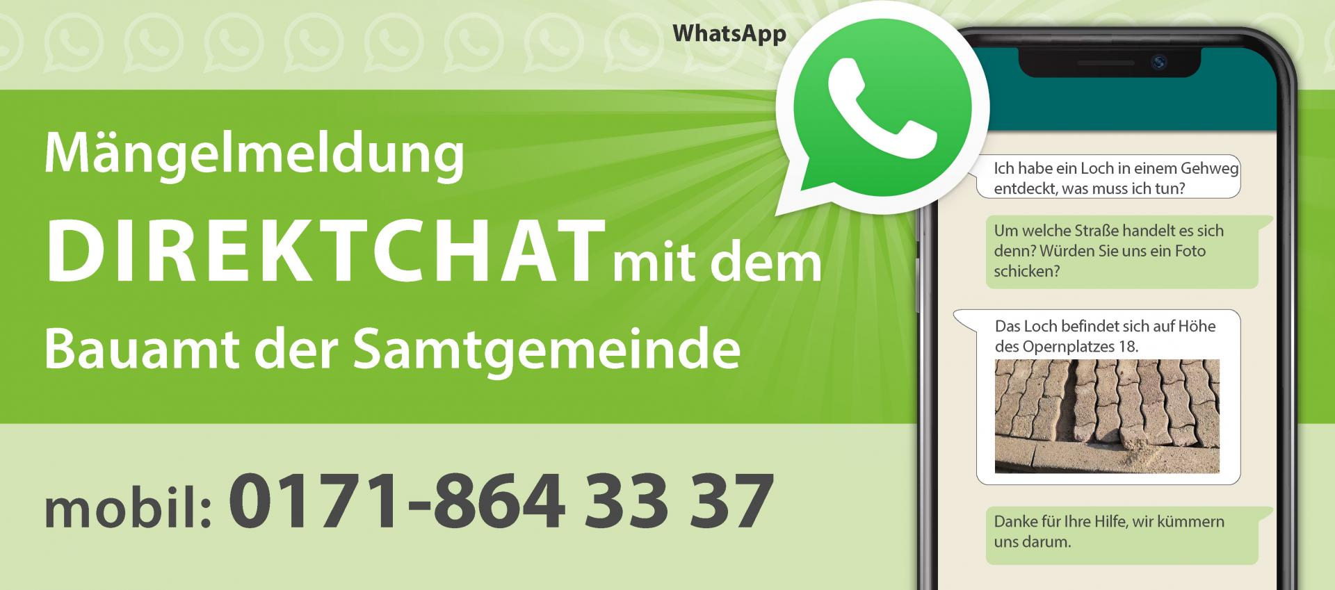 Bauamt WhatsApp