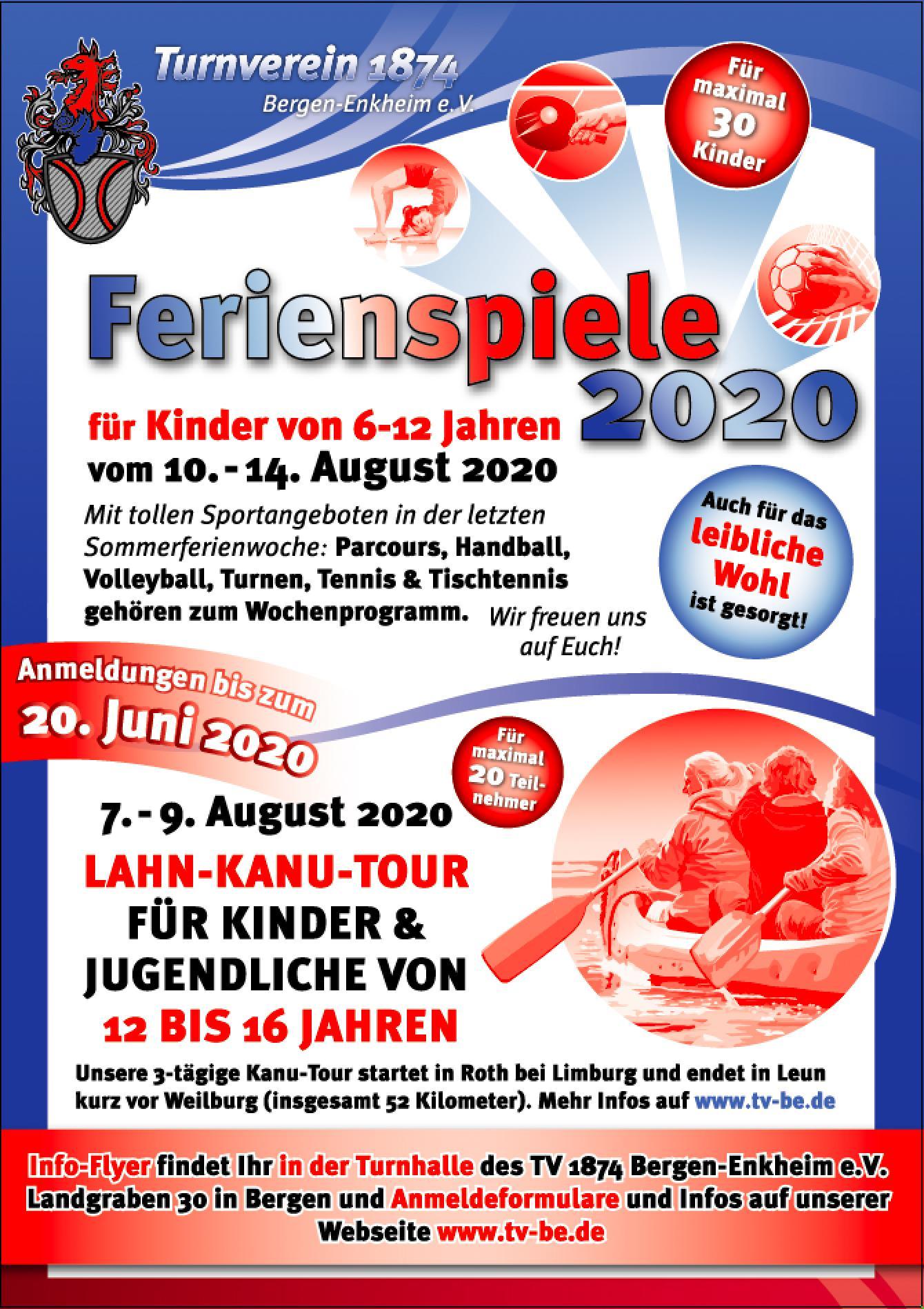 Lahn-Kanu-Tour 2020