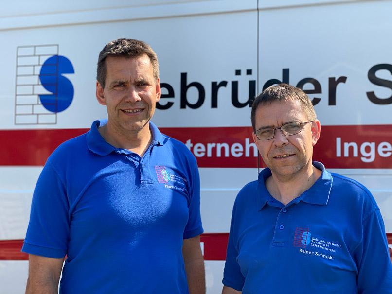 Marco und Rainer Schmidt (Geschäftsführer der Gebr. Schmidt GmbH)