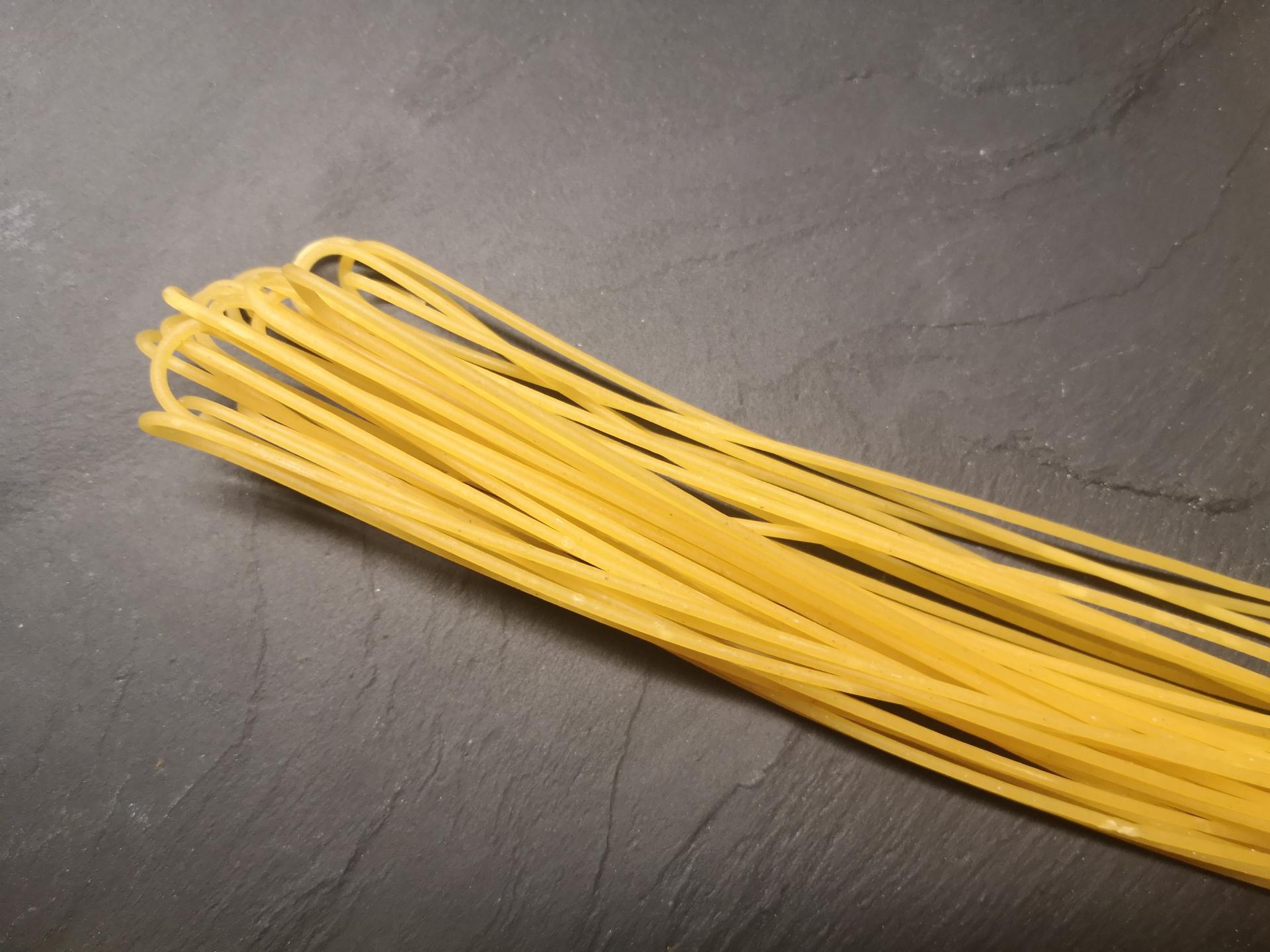 handgeschnittene Spaghetti