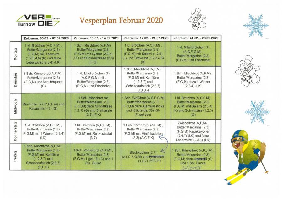 Vesper Februar