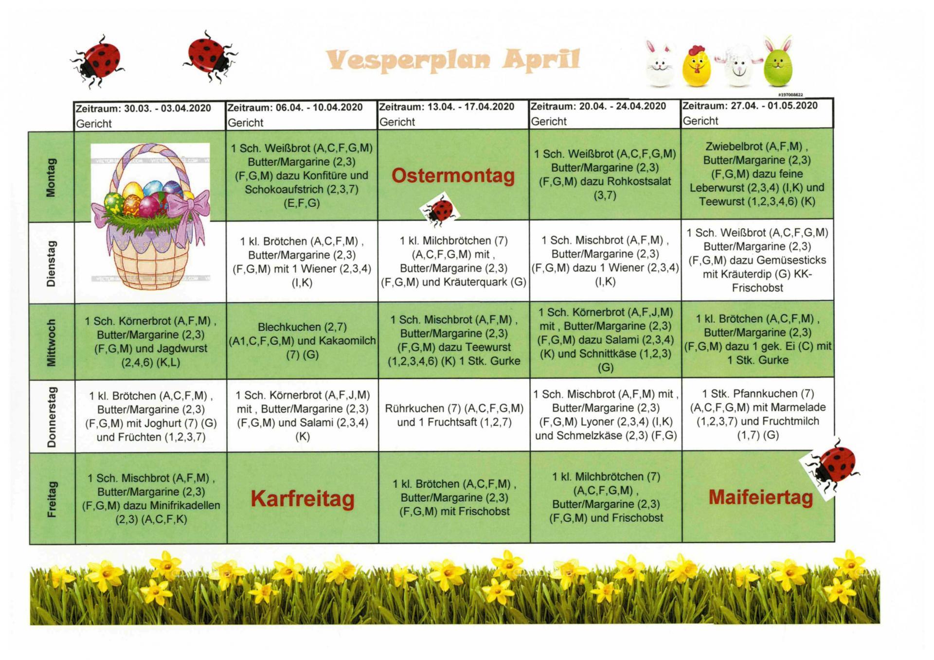 Vesper April