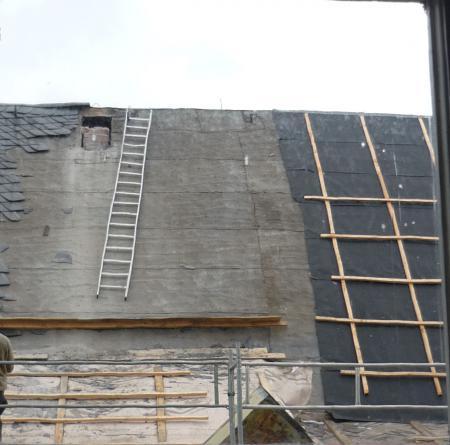 Rückbau der Schlöte und neue Dachhaut 12.02.2014.2