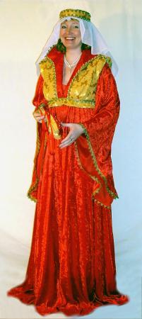 Mittelalterkleid rot