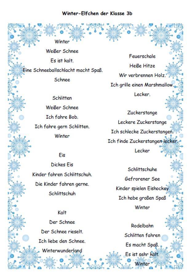 Winter Elfchen 1
