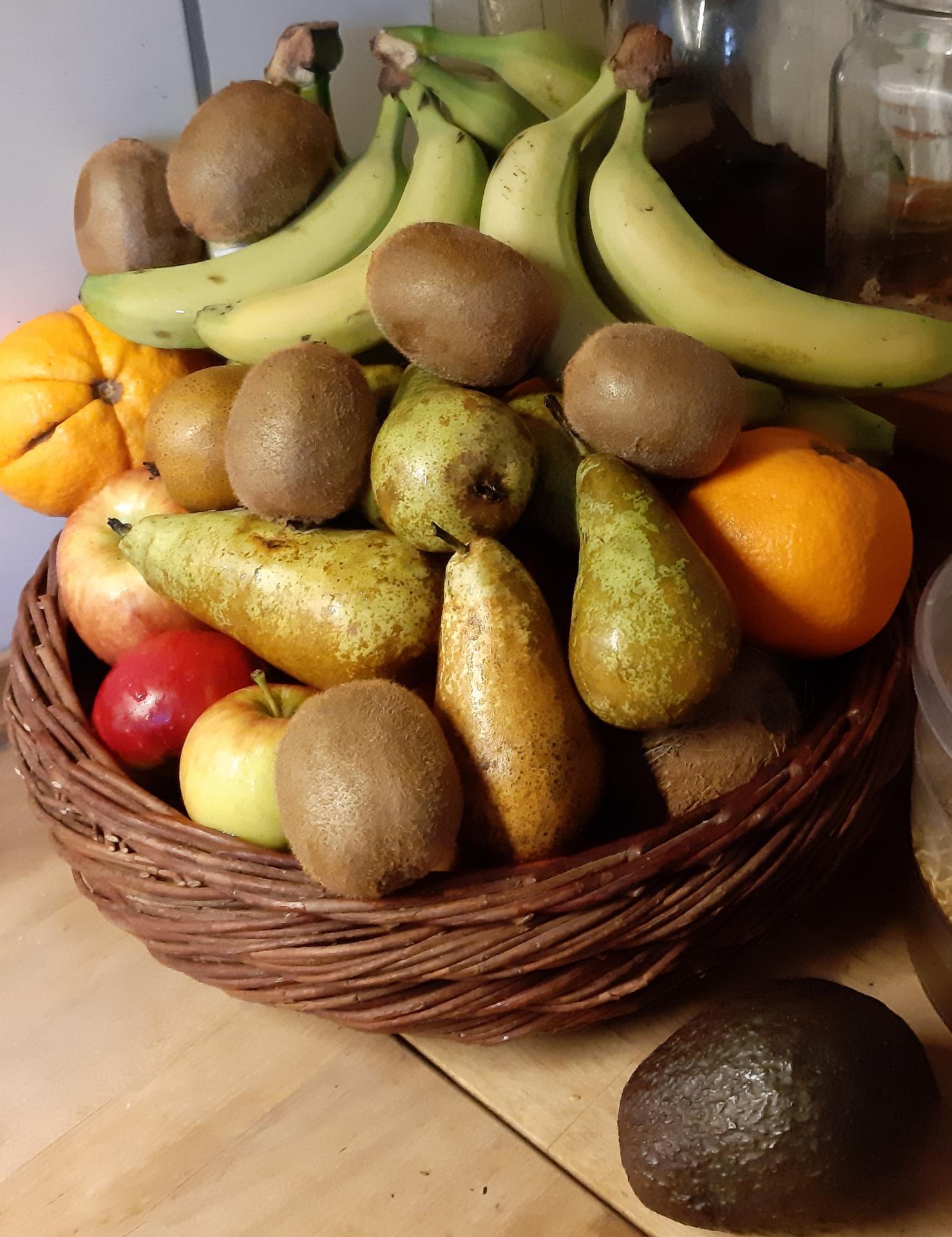 Wortgitter Obst