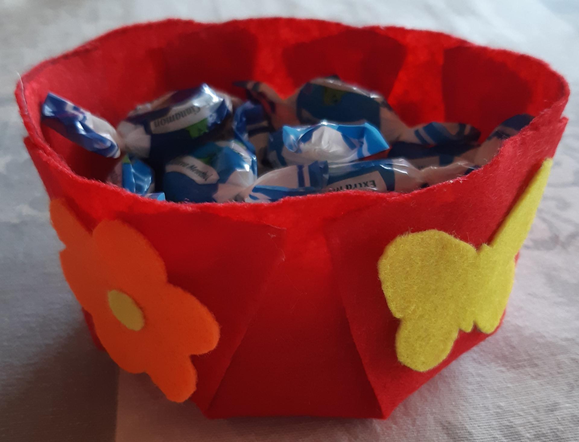 Süßigkeitenschüssel