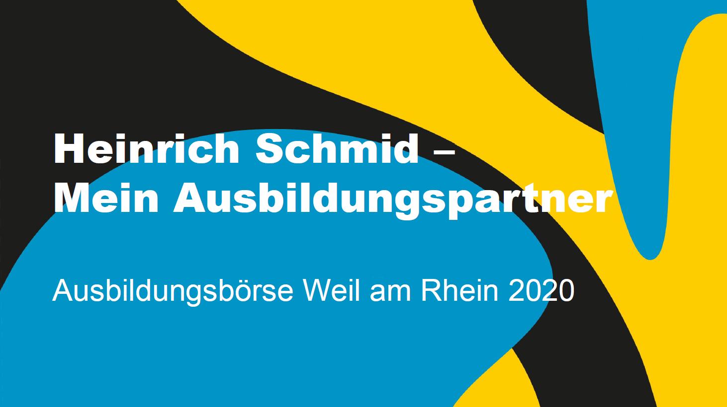 Heinrich Schmid 1