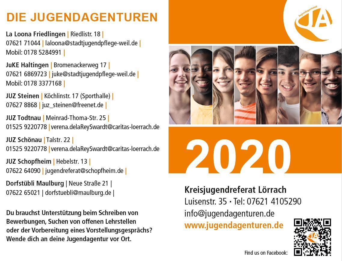 Jugendagenturen Kontakt