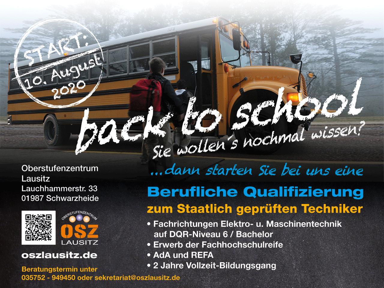 Berufliche Qualifizierung zum staatlich geprüften Techniker am OSZ Lausitz in Schwarzheide