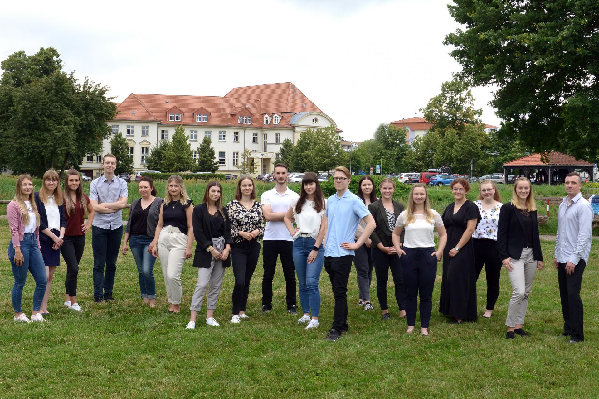 Unsere Auszubildenden und Studierenden - Foto: Landkreis OSL