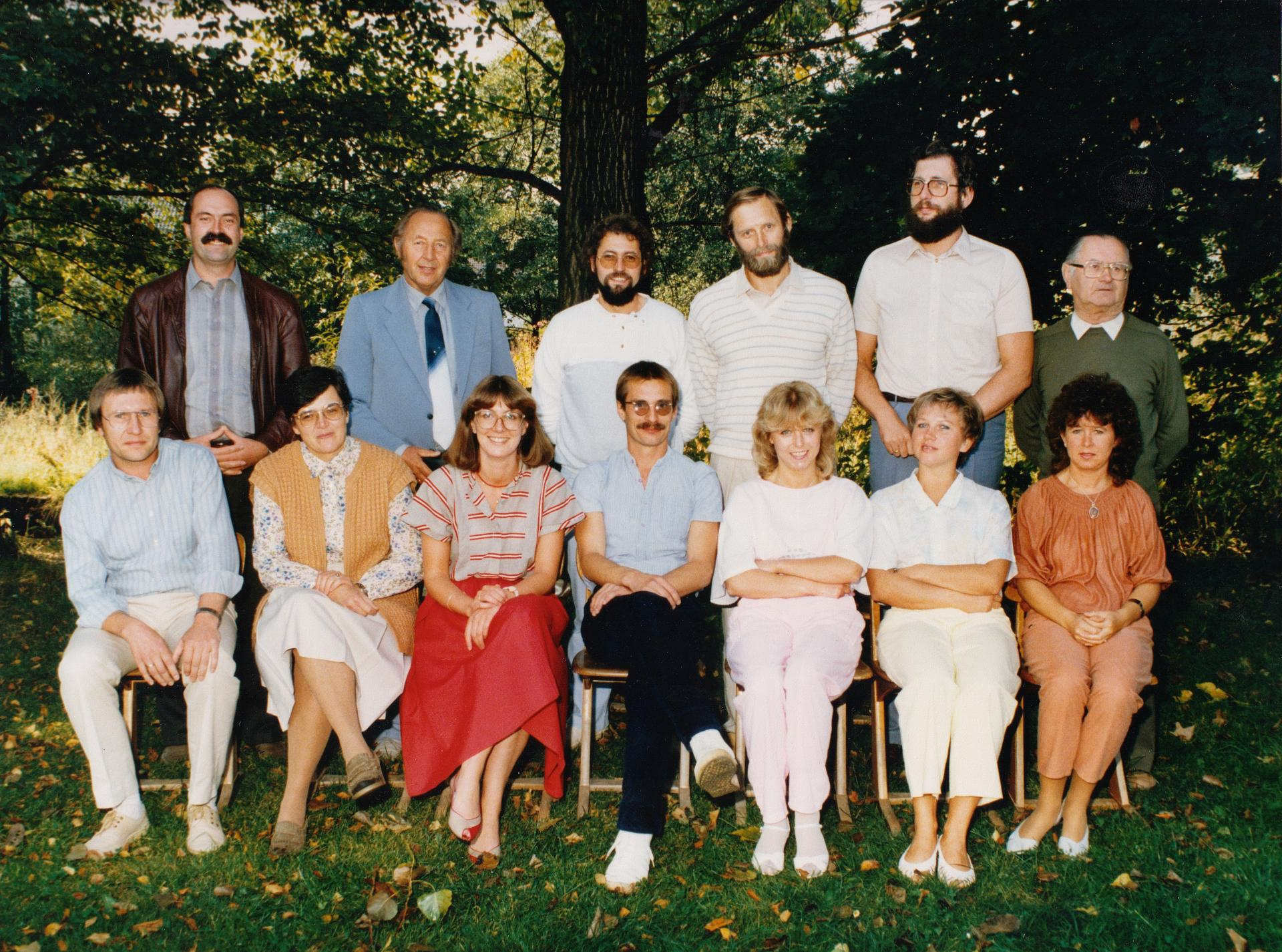 Tröstau Kollegium 1985 Herbst