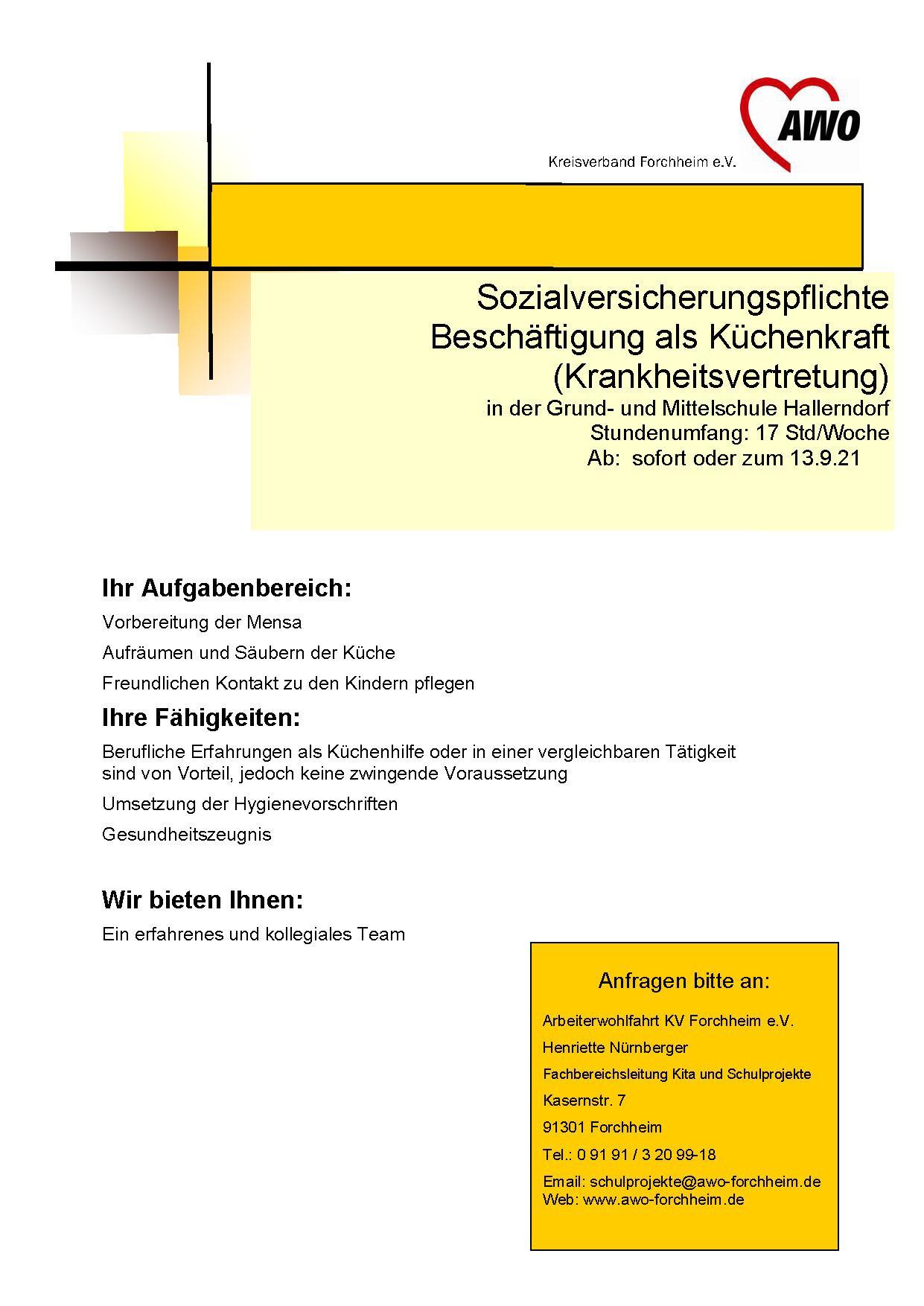 Küche Hallerndorf ab 6.21