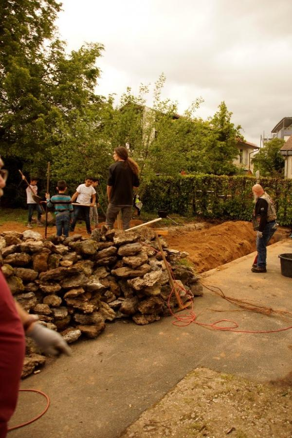 Umgestaltung Hof und Garten