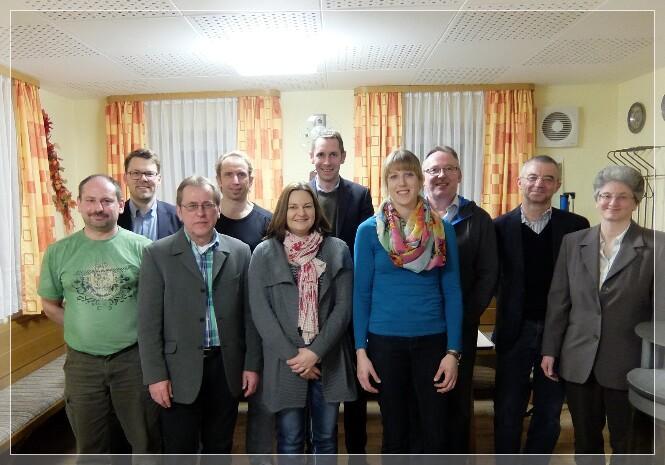 Die Vorstandschaft der Teilnehmergemeinschaft Alladorf II