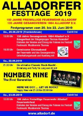 Festprogramm 2019