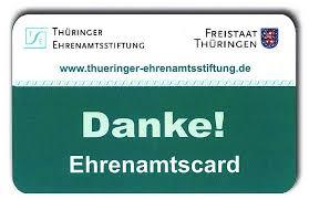 Thüringer Ehrenamtscard