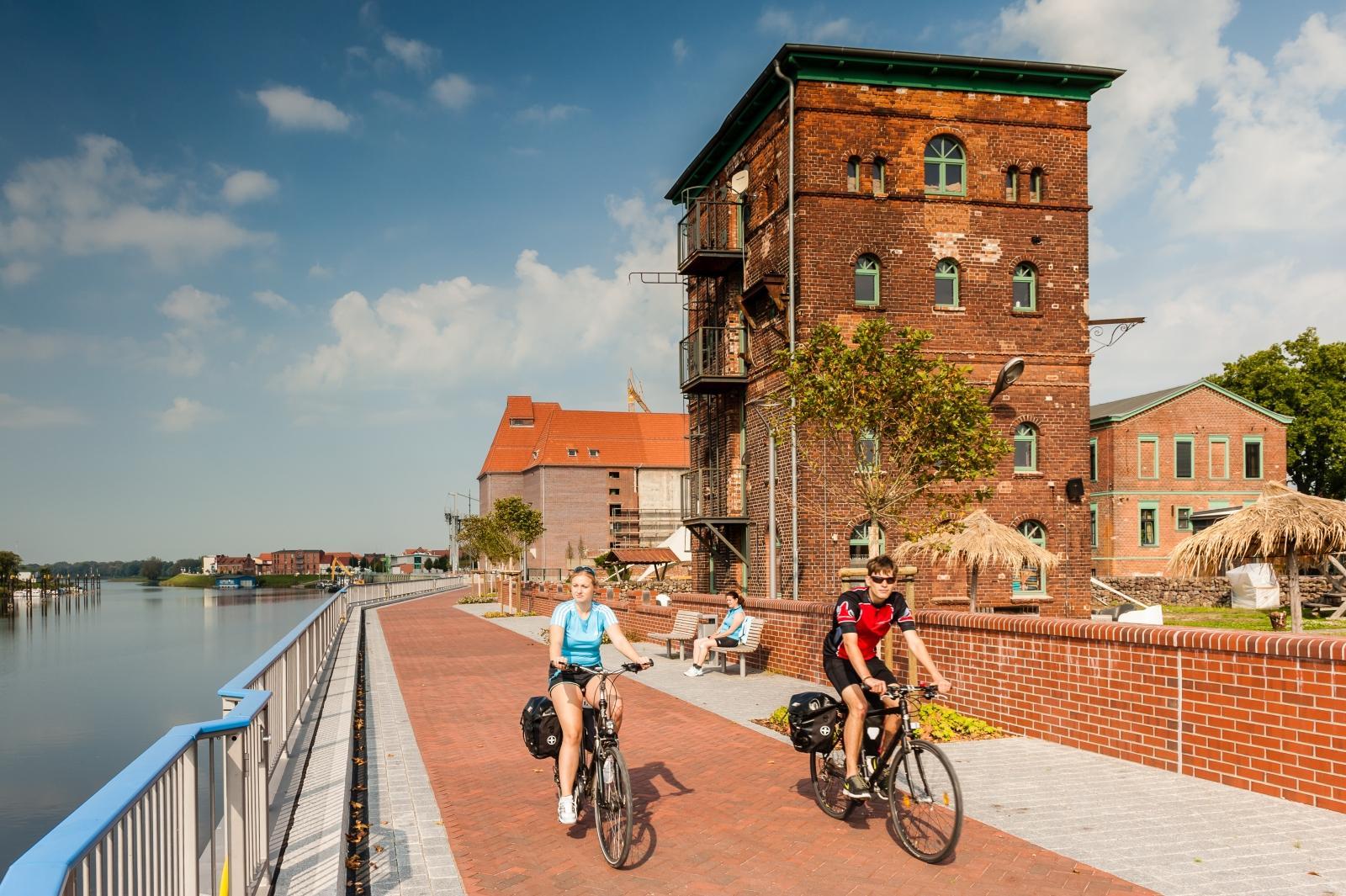 Radfahrer_Promenade