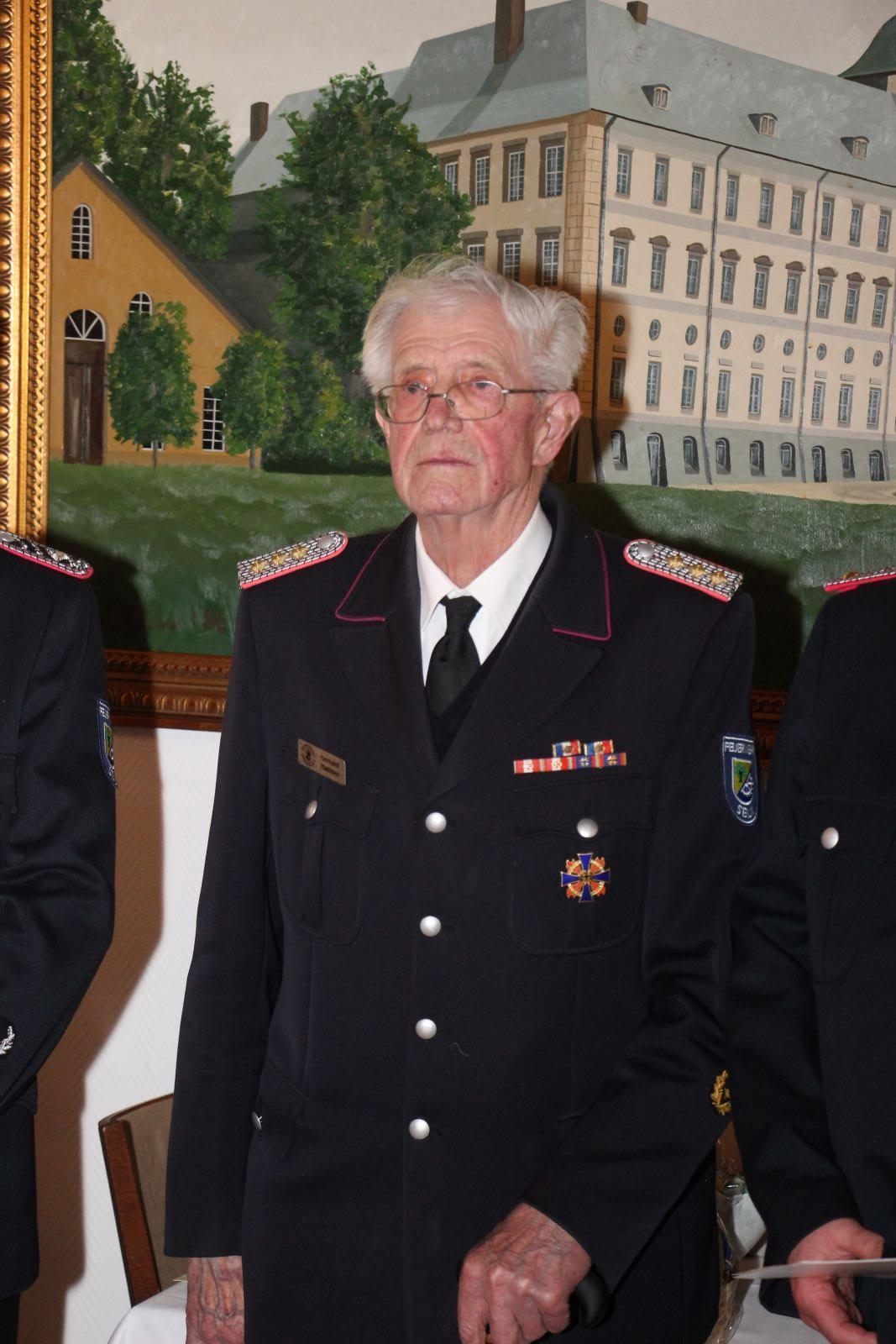 Gerd Matthies - Ehrenhauptbrandtmeister Gerhard Matthies