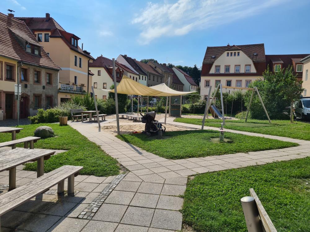 Spielplatz Markt