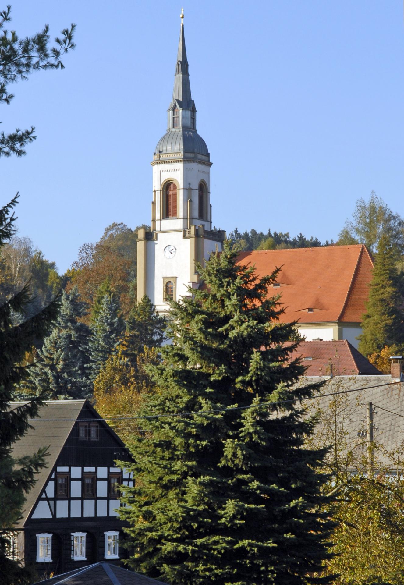 Evangelisch-Lutherische Kirche Wehrsdorf Sankt Trintatis