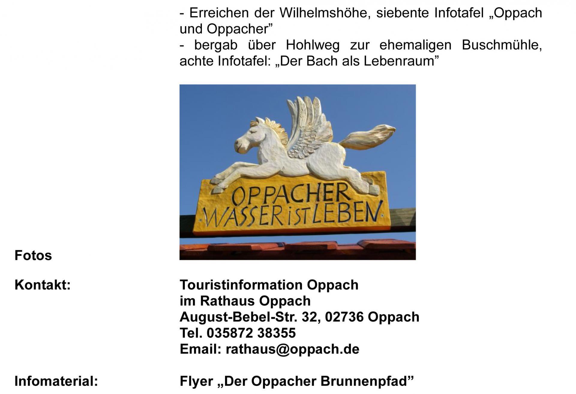 Oppacher Brunnenpfad- Kurzbeschreibung 2