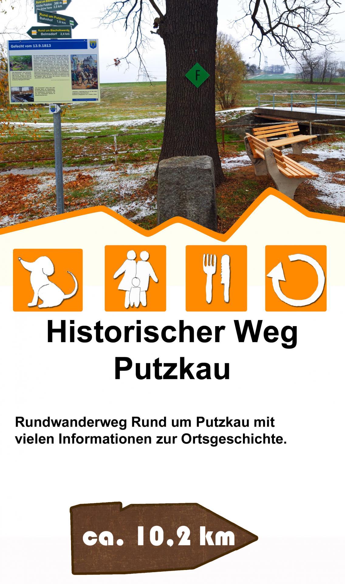Historischer Weg Putzkau