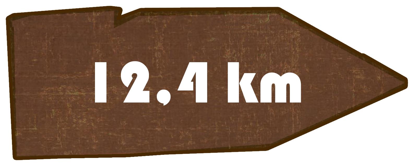 Kilometer Grenzwanderweg