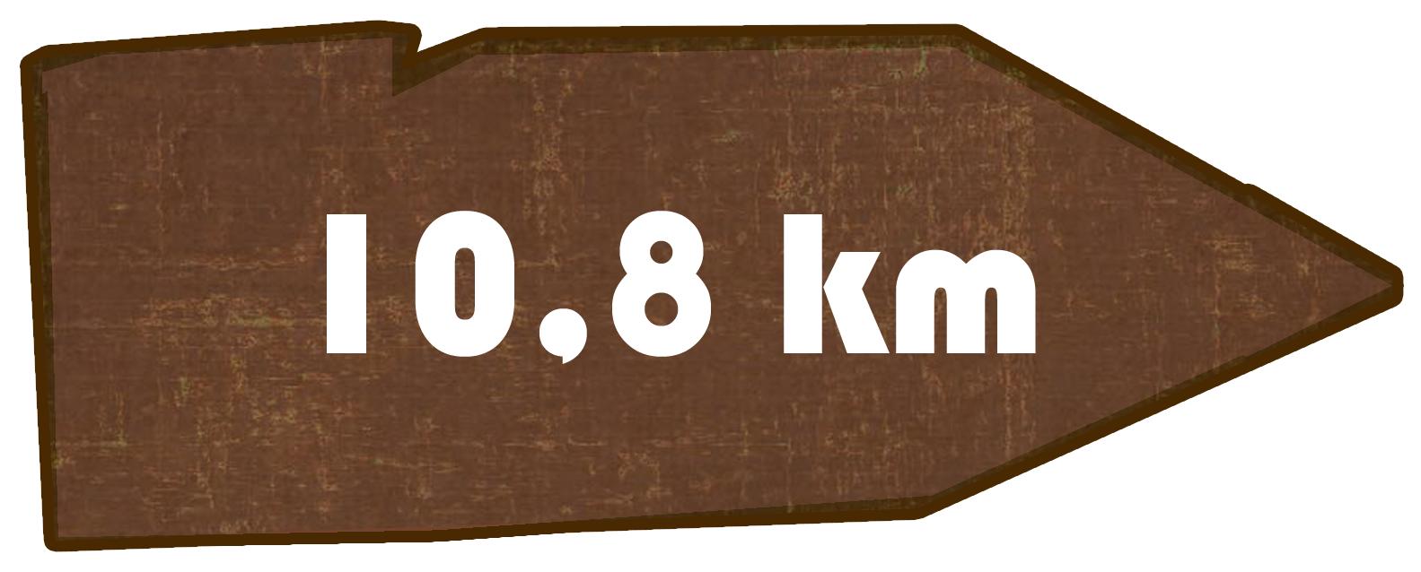 Kilometer Historischer Wanderweg