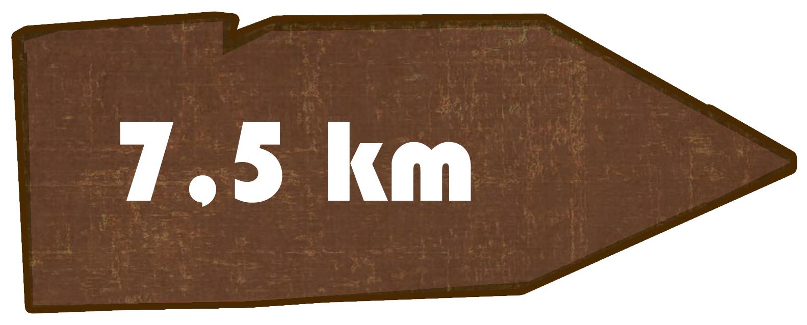 Kilometer Neueibauer Höhenweg