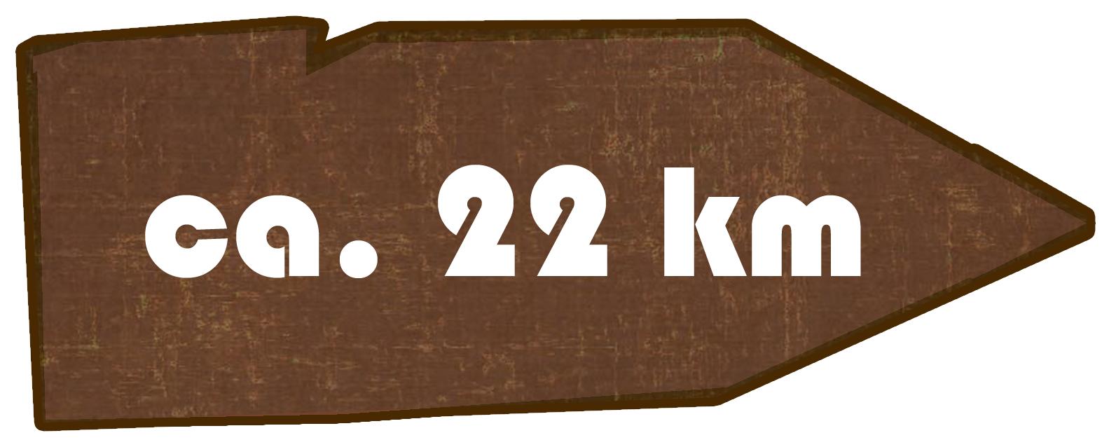 Kilometer Obercunnersdorf - Niedercunnersdorf - Löbau - Herwigsdorf - Strahlwalde - Obercunnersdorf