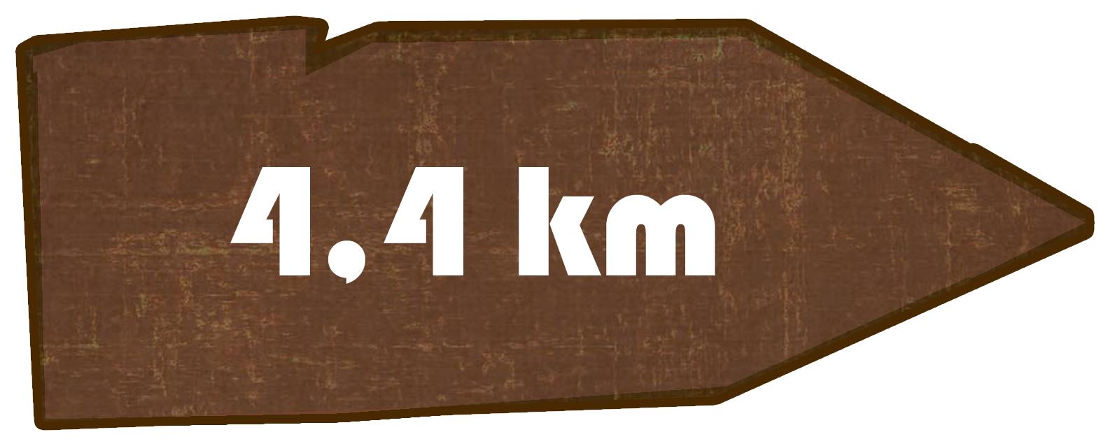 Kilometer Oppacher Brunnenpfad
