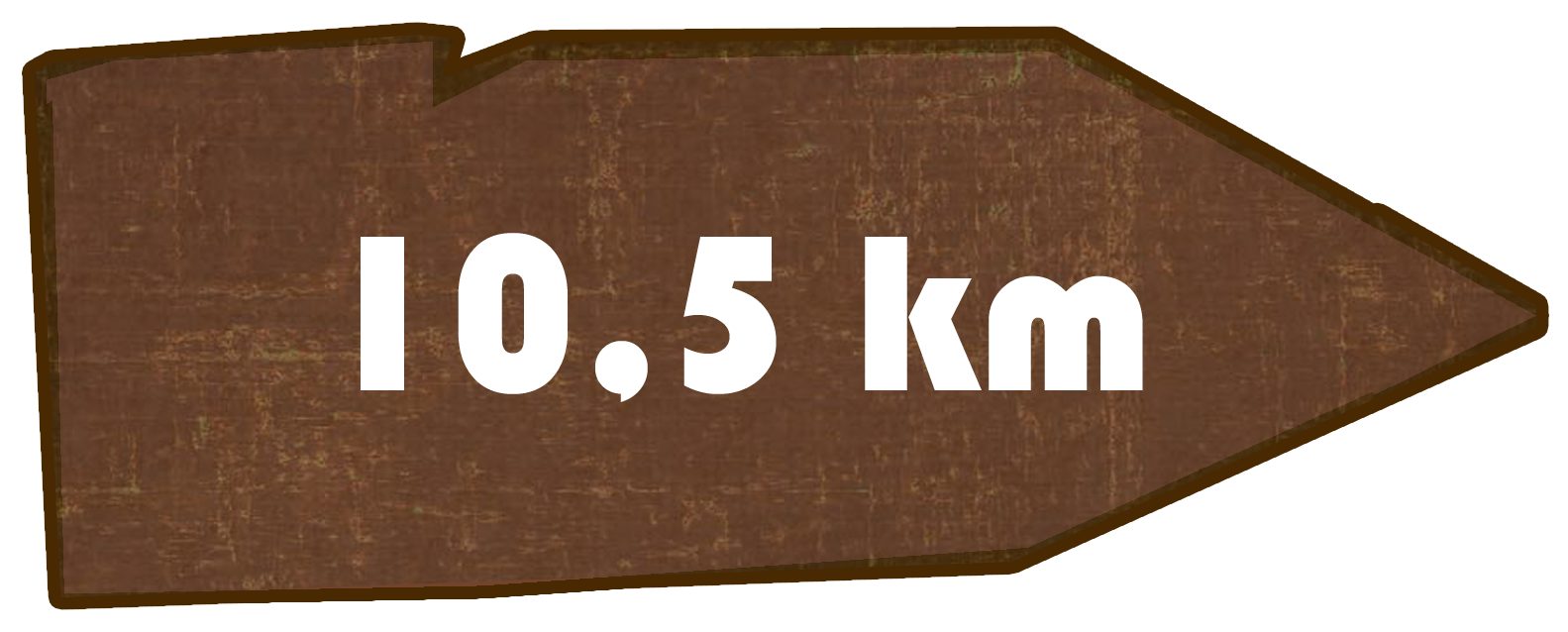 Kilometer Oppacher Ortsringweg