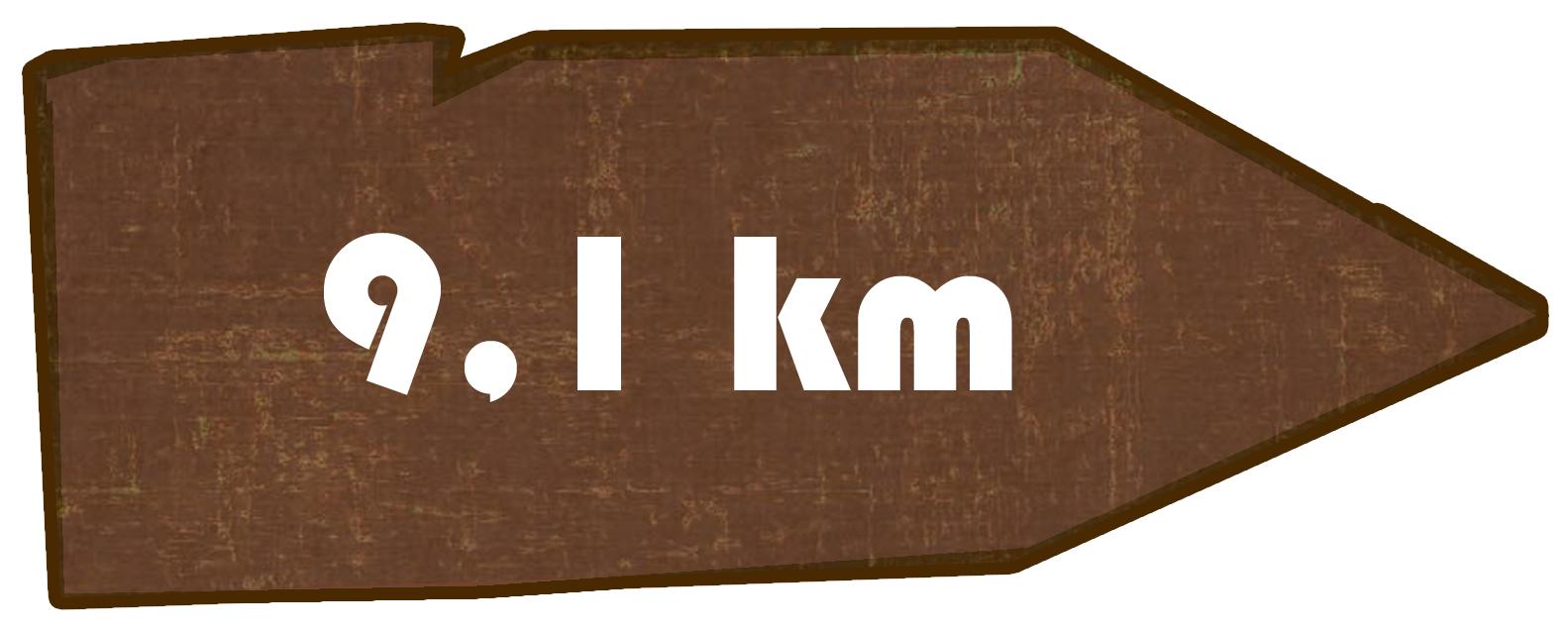 Kilometer Putzkau nach Rückenberg
