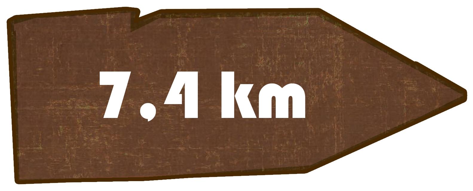 Kilometer Putzkau nach Valtenberg