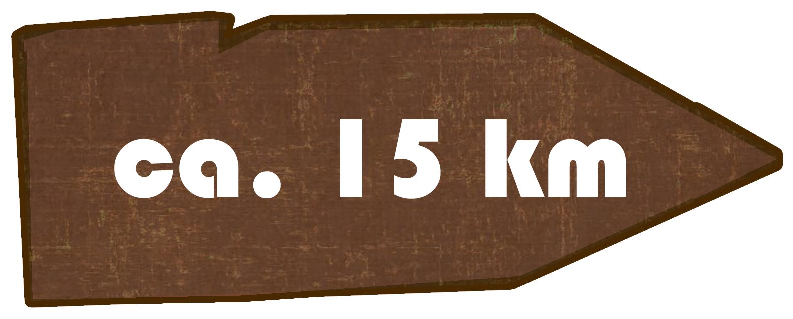 Kilometer Rundwanderweg Obergurig