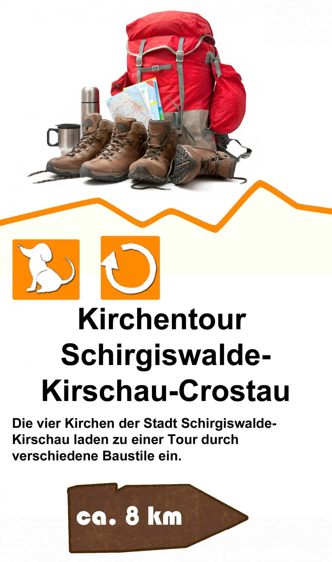 Kirchentour Schirgiswalde-Kirschau-Corstau