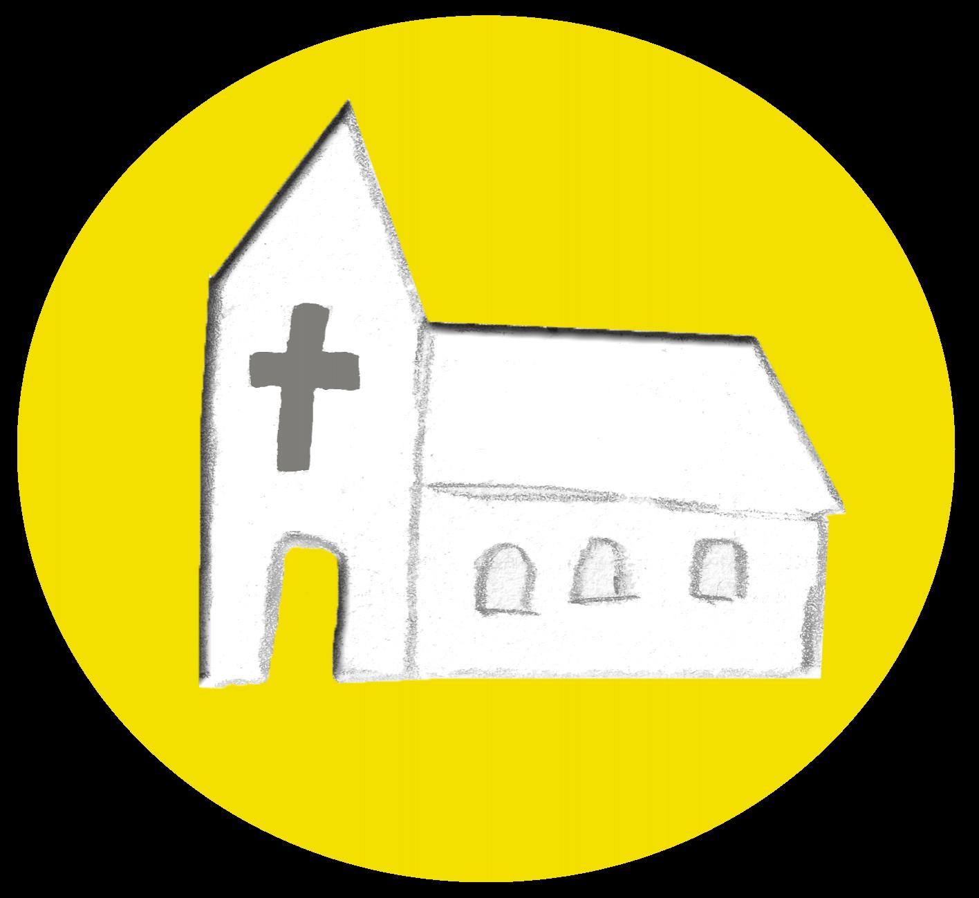 Piktogramm Kirche