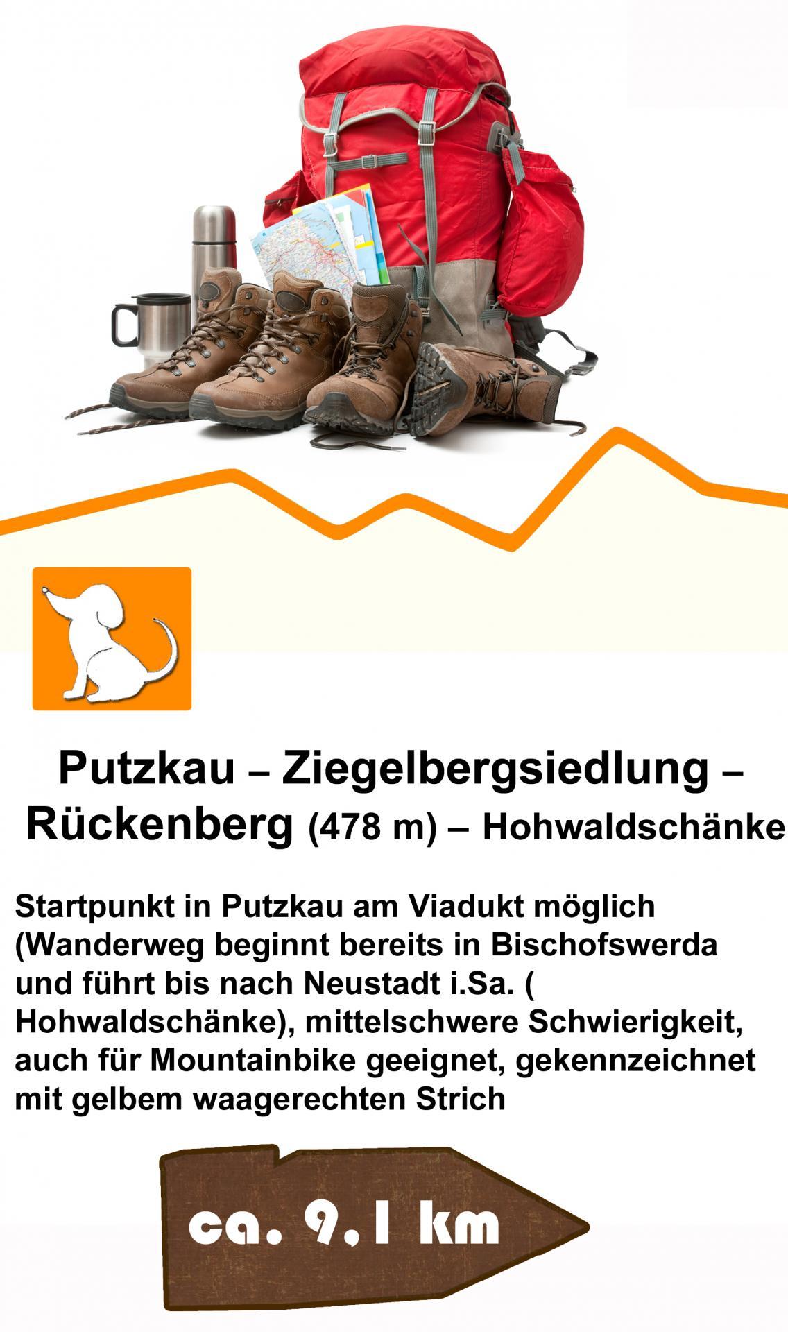 Putzkau-Ziegelberg- Rückenberg