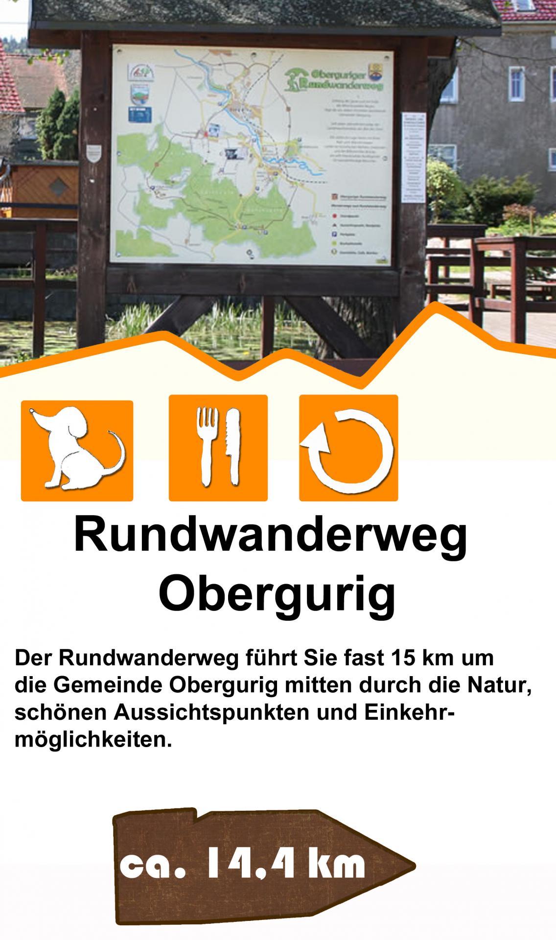 Rundwanderweg Obergurig