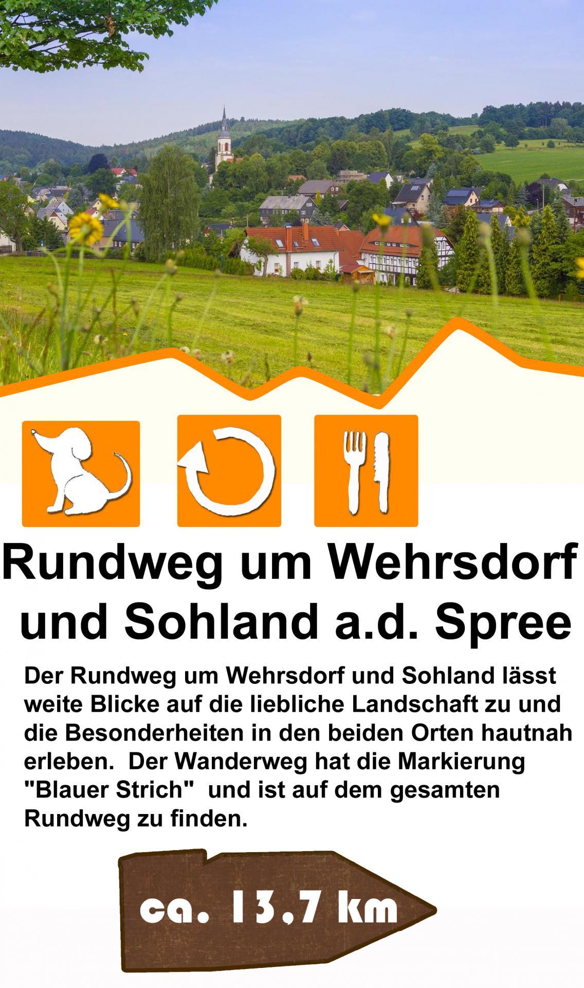 Rundweg um Wehrsdorf und Sohland