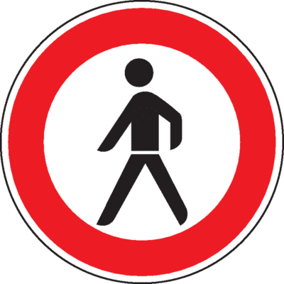 Eingang verboten