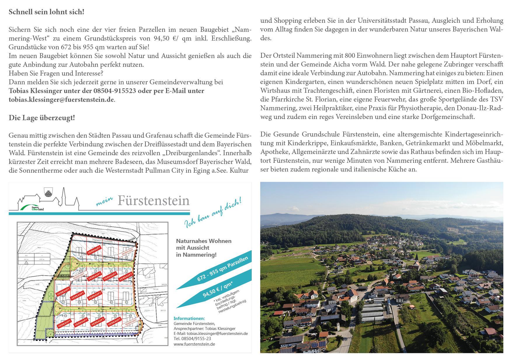 Baugebiet Nammering-West