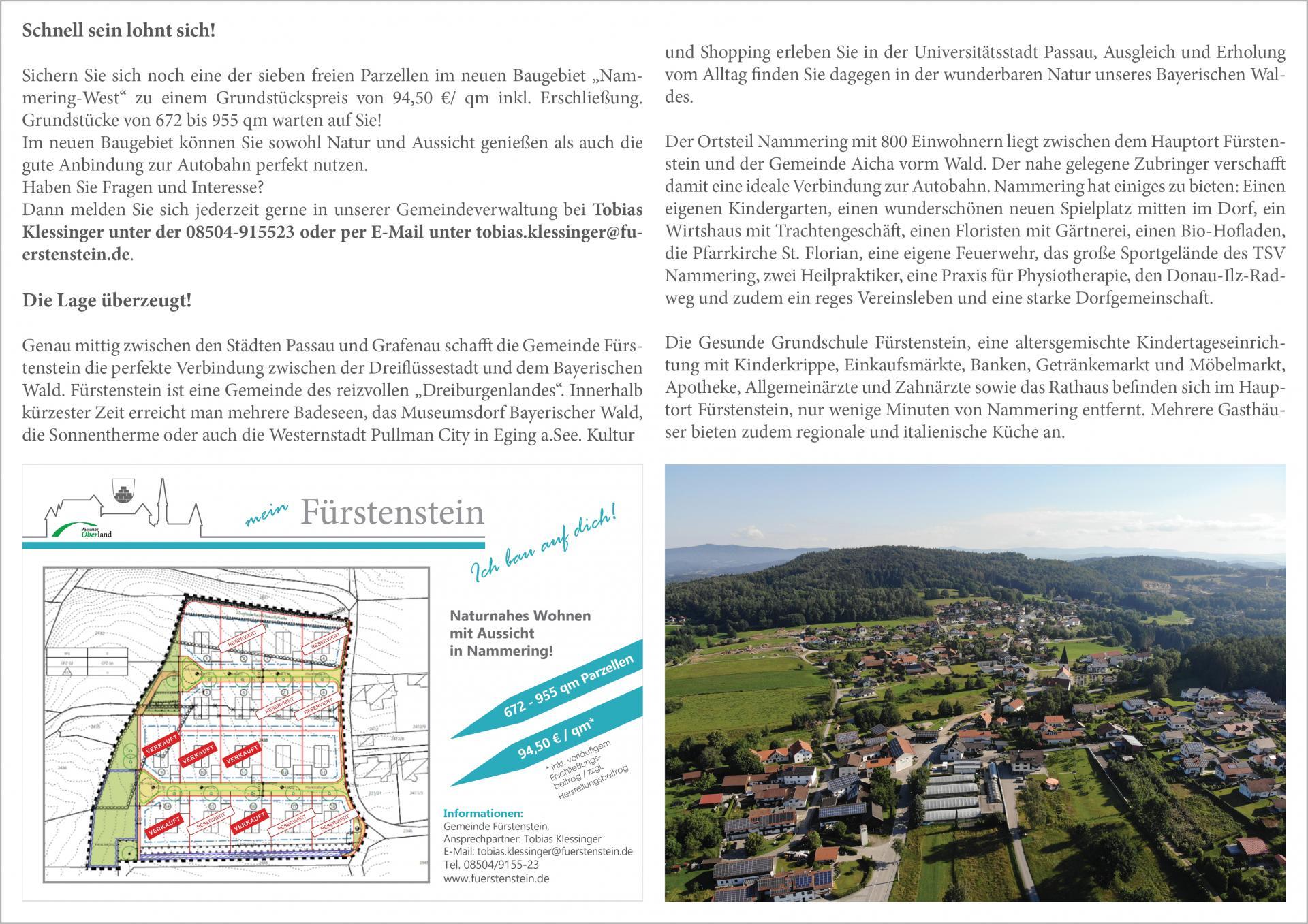 Baugebiet Nammering West