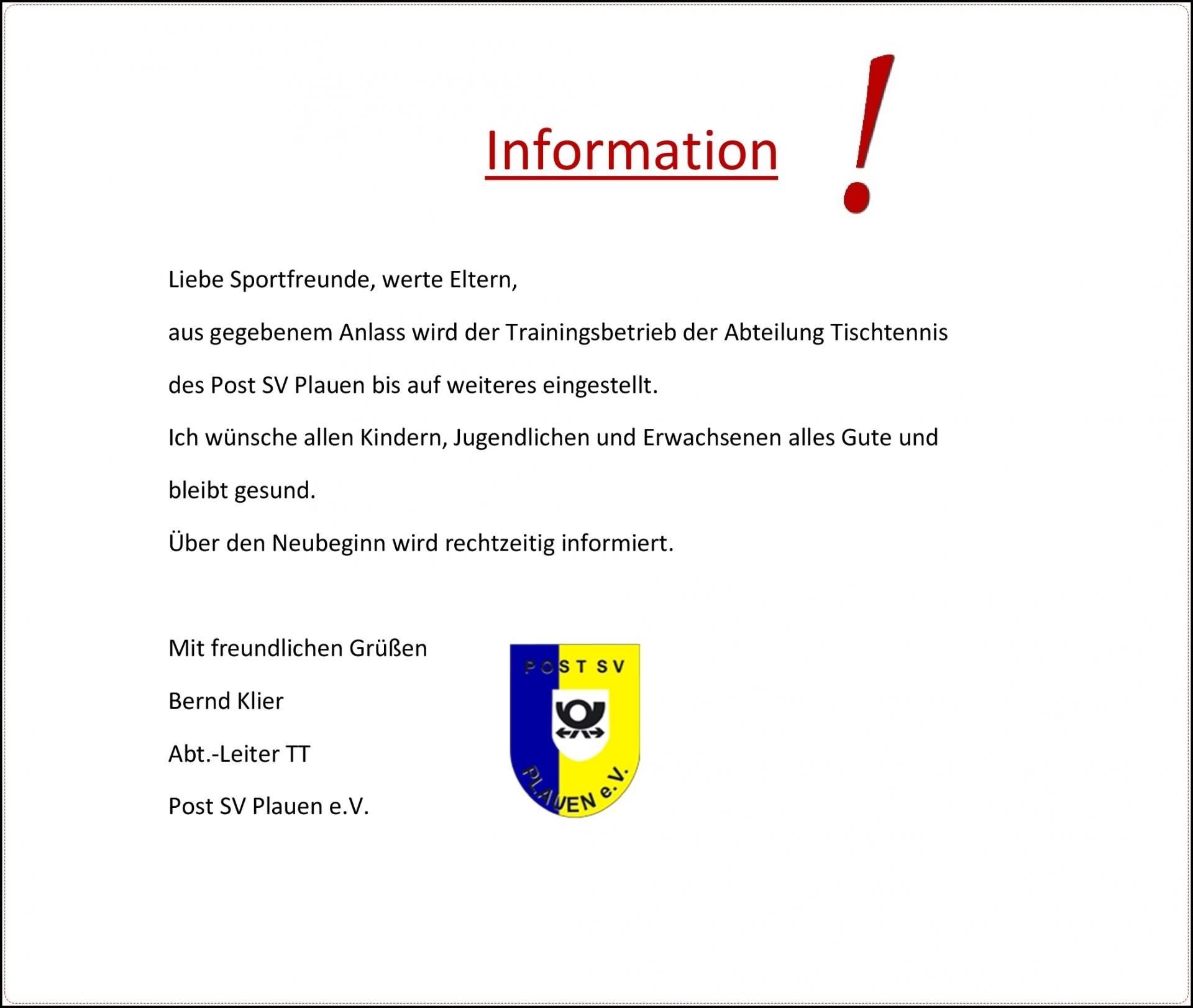 Information!